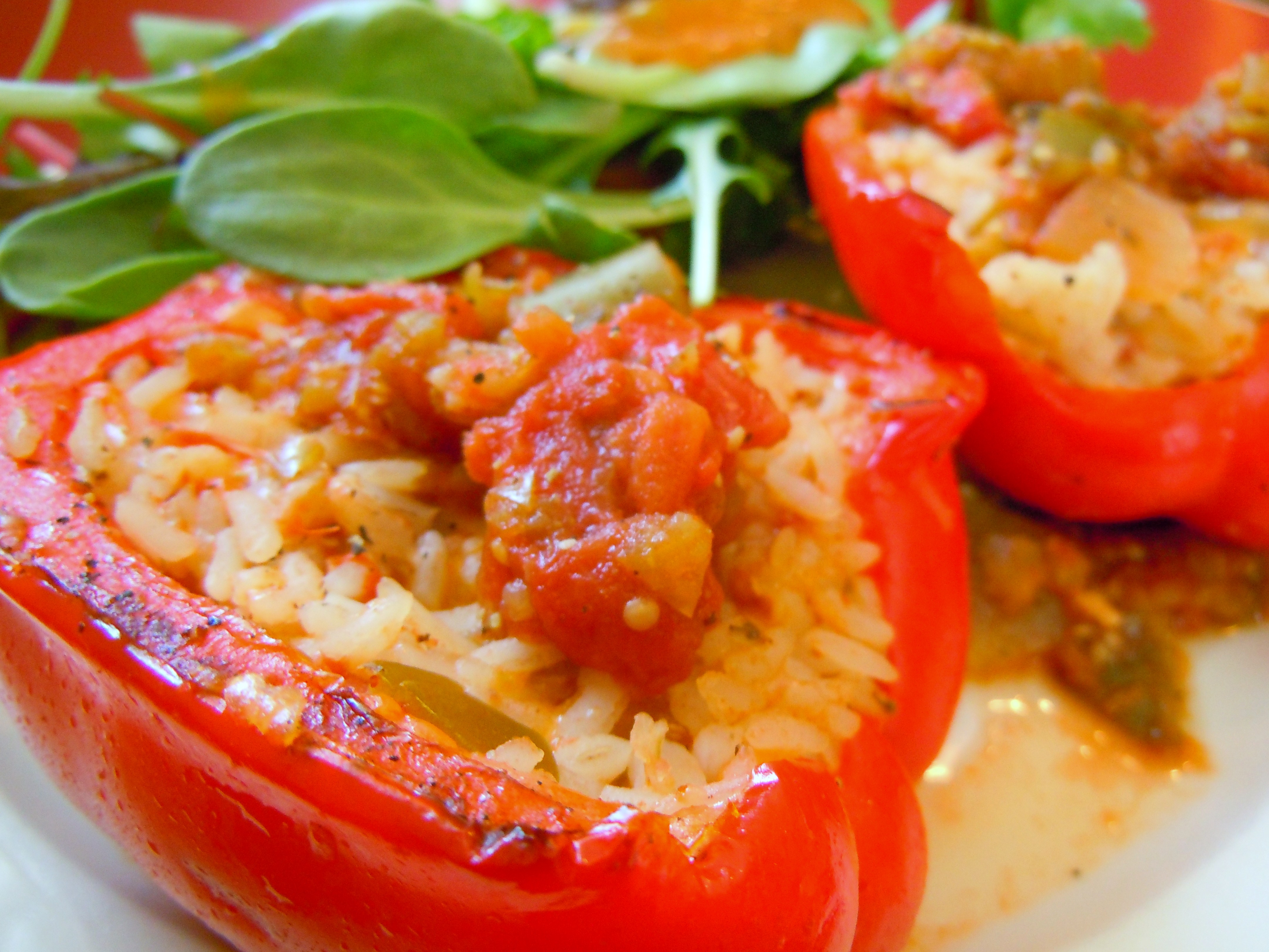 bell peppers chili stuffed bell peppers stuffed sweet bell peppers ...