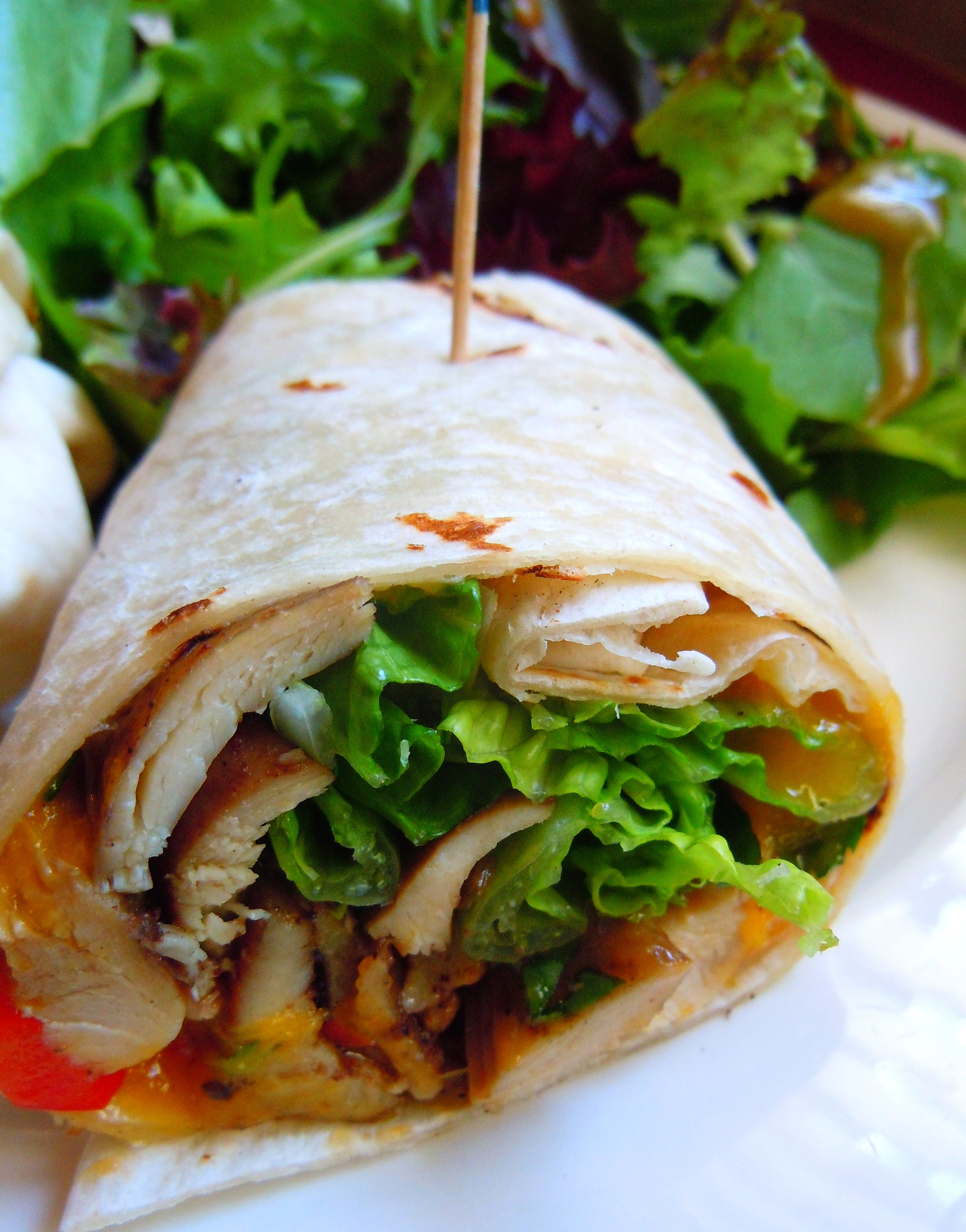 jerk chicken wrap ate by ate