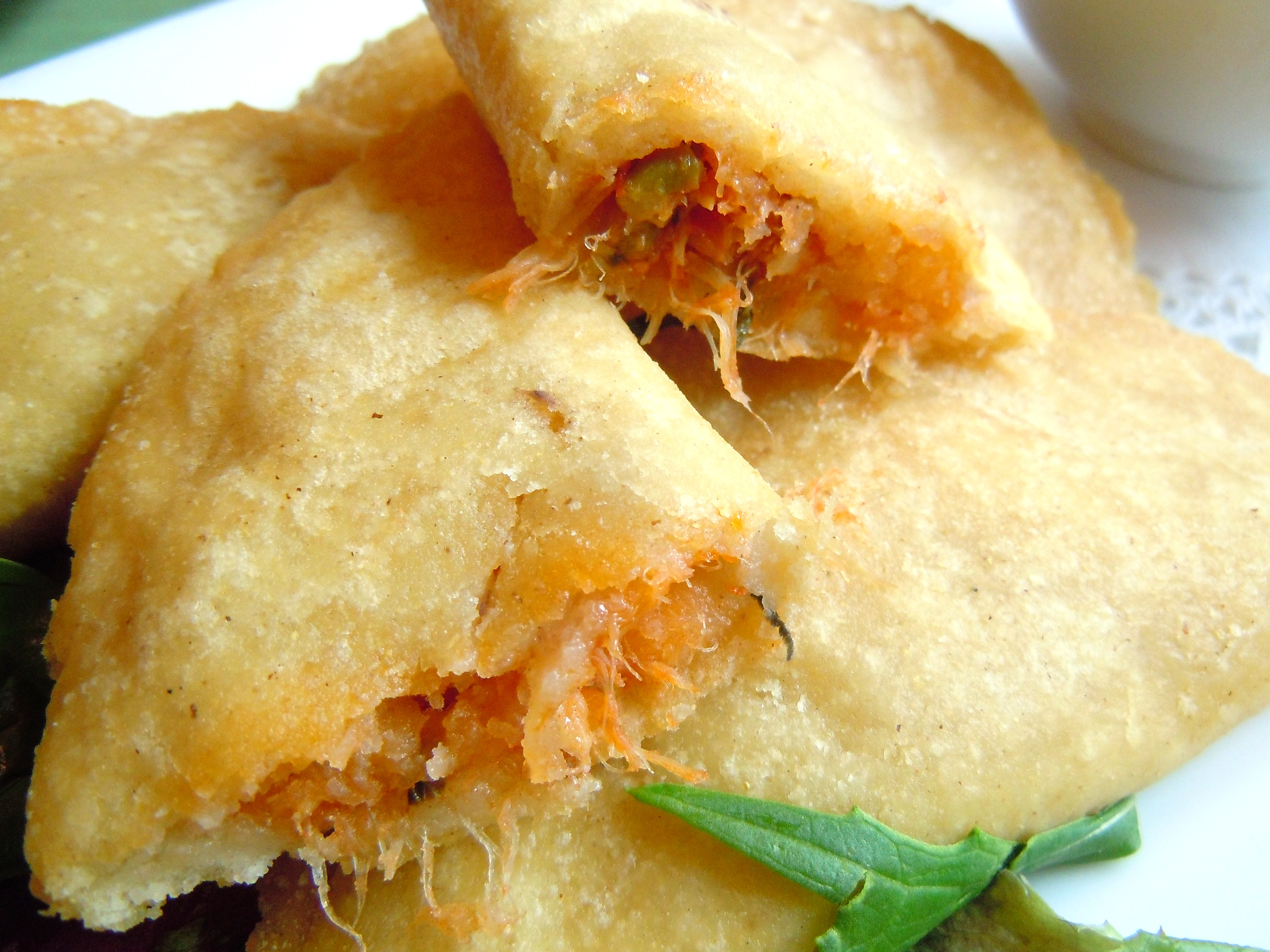 Mi Casa es Su Casa – Cod Stuffed Corn Empanadas & Creamy Black Beans ...