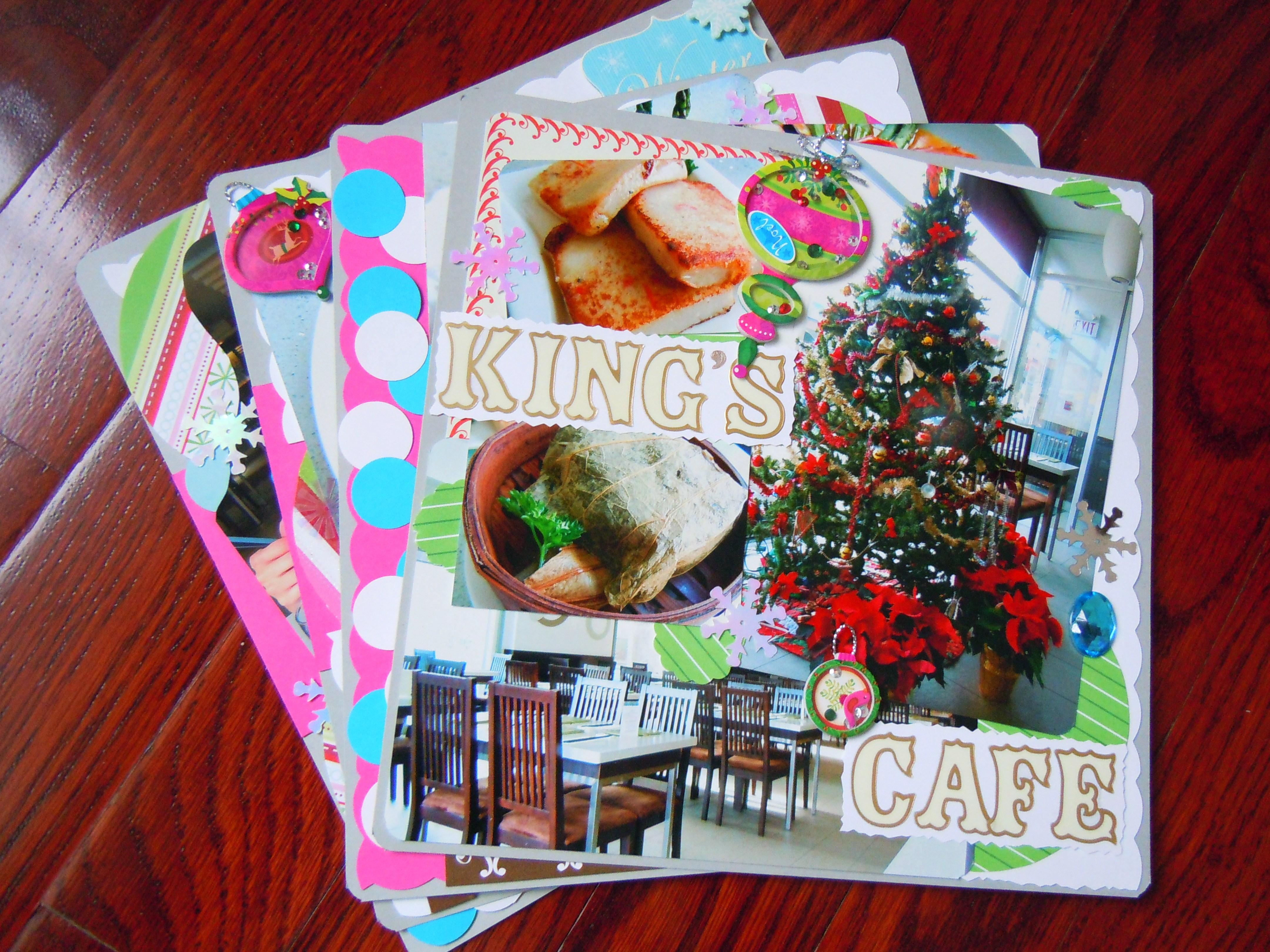 January scrapbook ideas - Scrapbooking