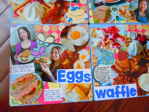 The kitchen table scrapbook layouts ate by ate page 2 for Scrapbooking cuisine
