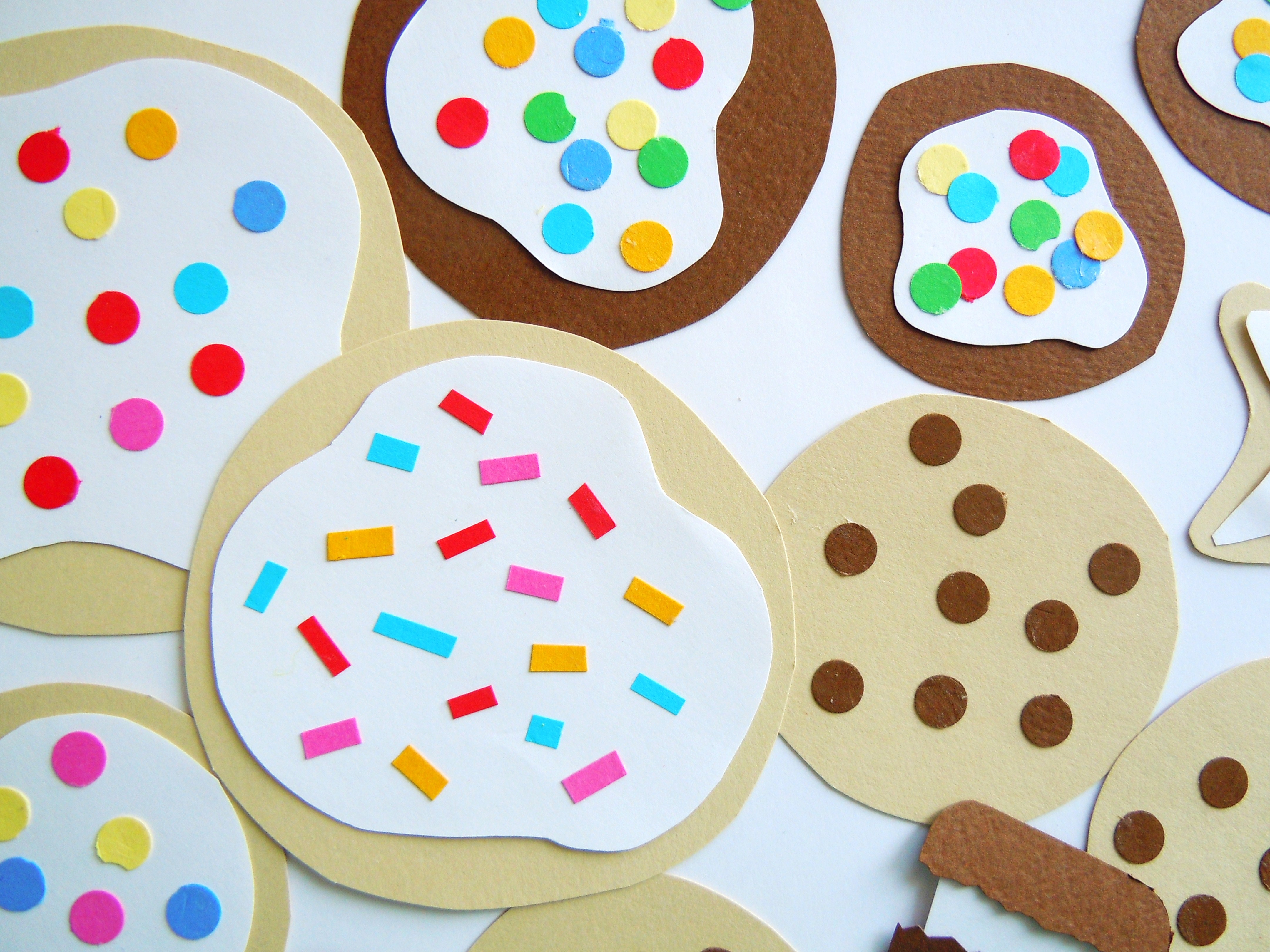 Paper Cookies Ate By Ate