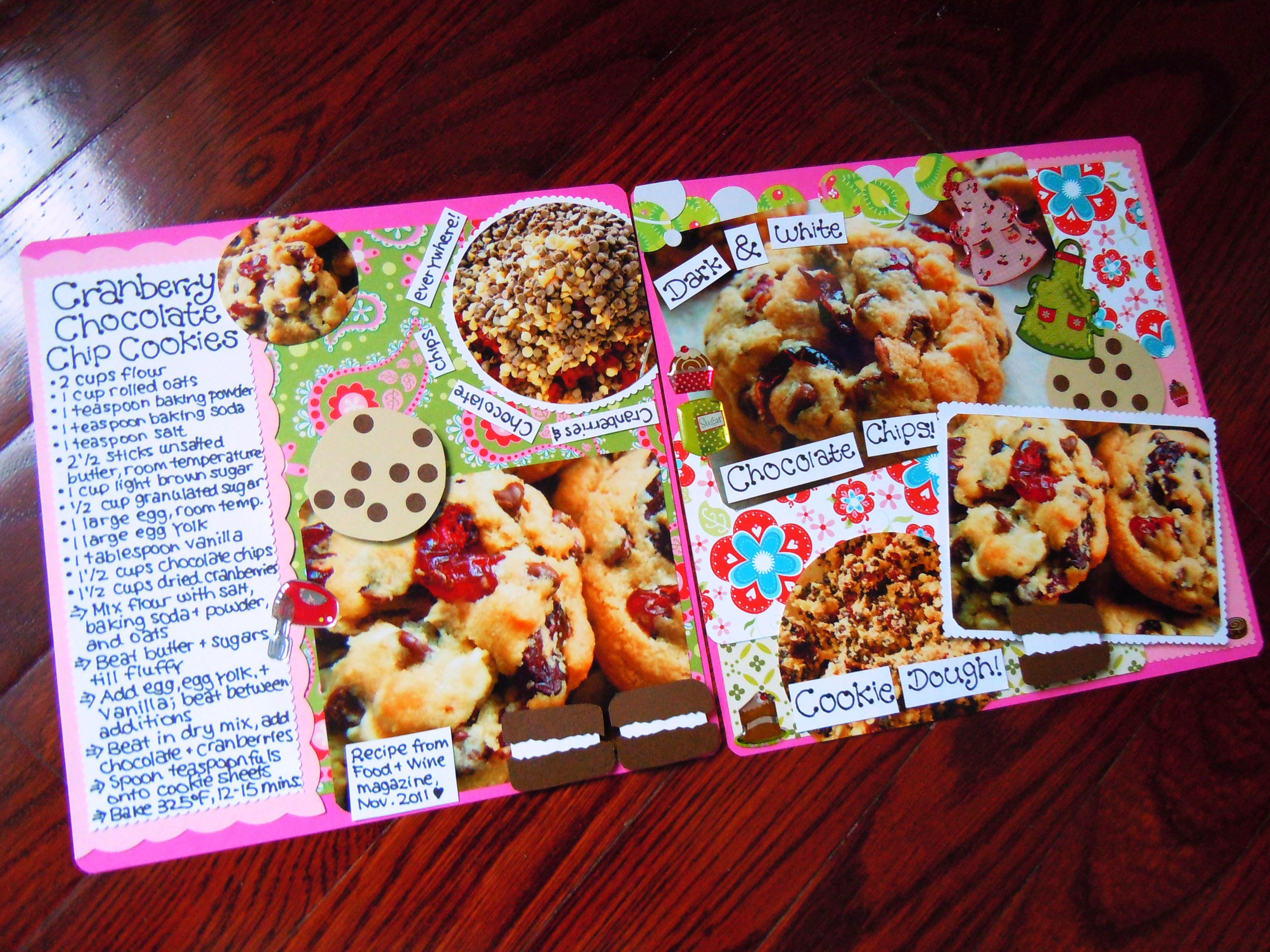 Food scrapbooking ate by ate for Scrapbooking cuisine