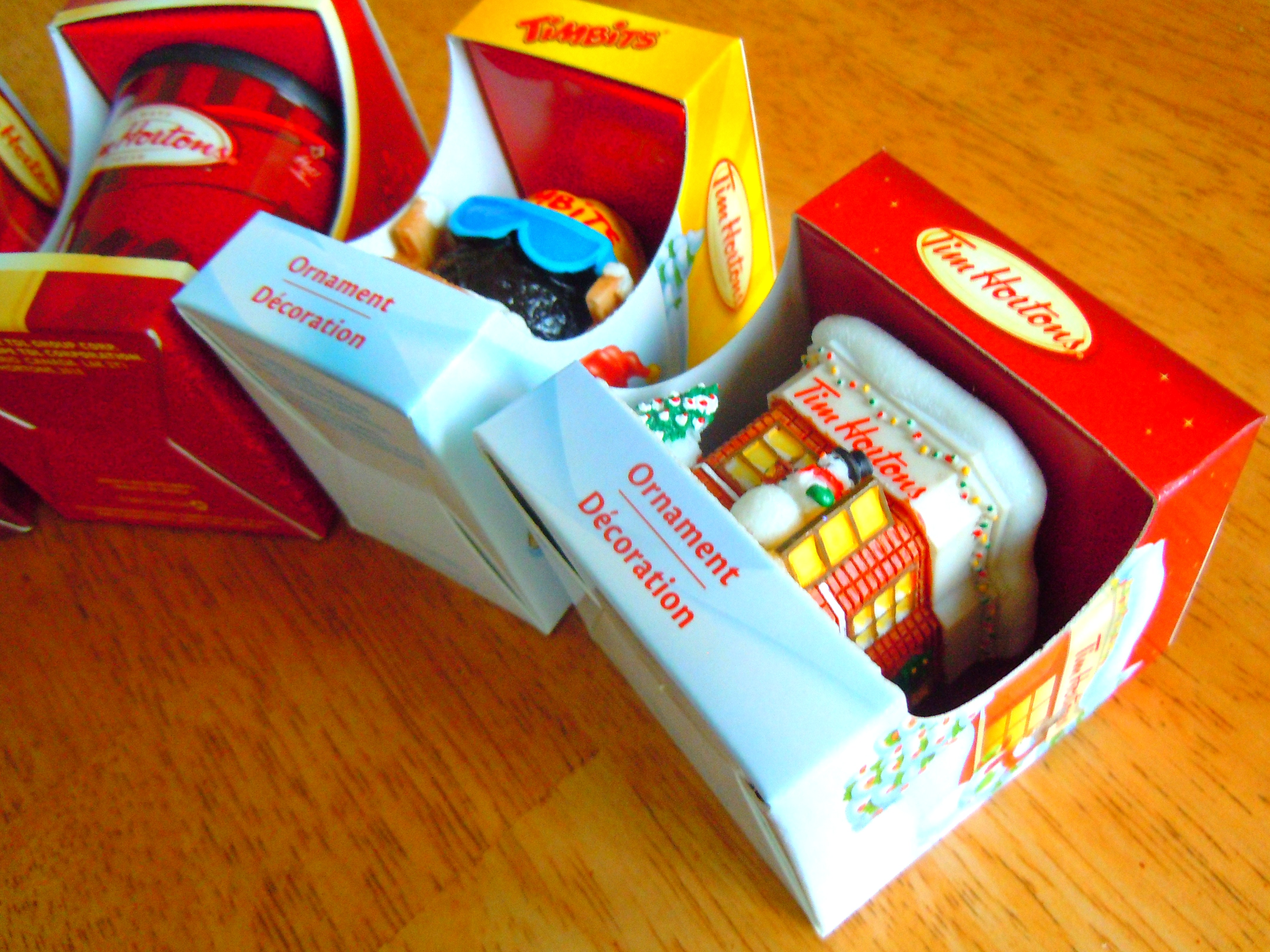Tim Hortons Christmas tree ornaments | Ate by Ate