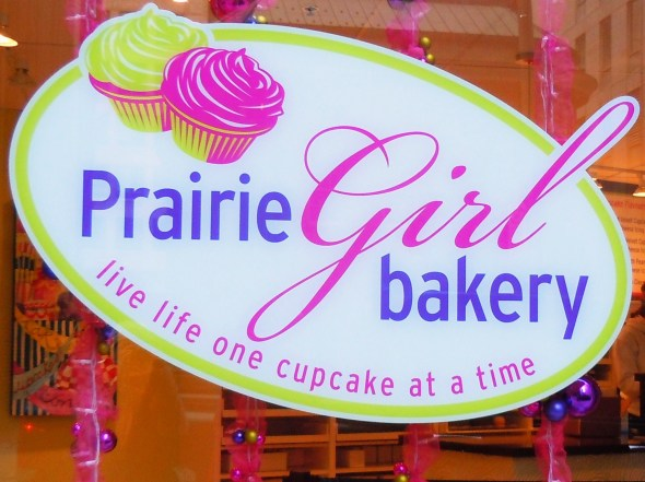 Prairie Girl Bakery in Toronto on King Street East.