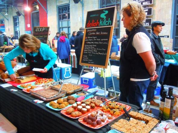 Delish Kitch at Wychwood Barns farmers' market