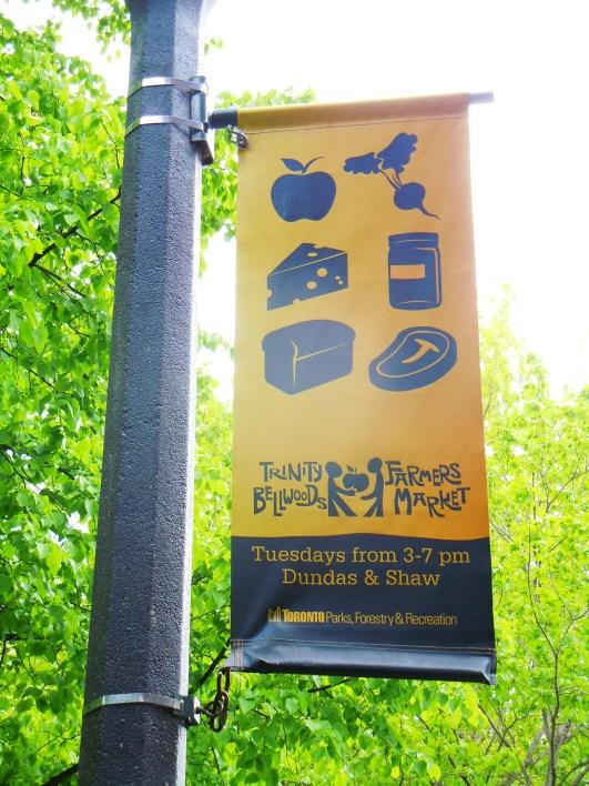 Trinity Bellwoods Park farmers market