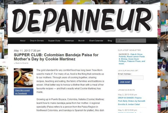 depanneur supper club. colombian