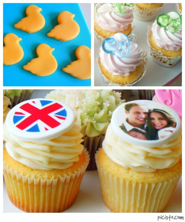 royal baby collage