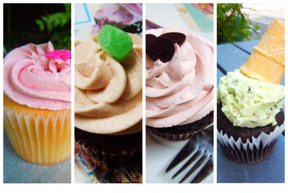 cupcake chronicles collage